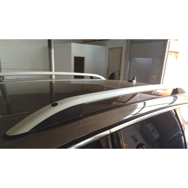 barre de toit aluminium pour touareg 2011 barre en aluminium mat d. Black Bedroom Furniture Sets. Home Design Ideas