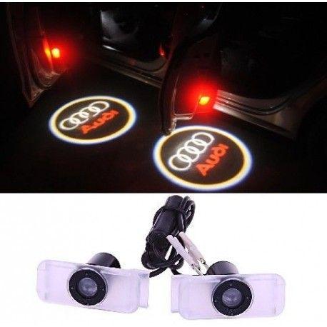 Deux Pico Projecteurs Logo Led Pour Audi Q3 Q5 Q7