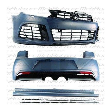 kit carrosserie complet look r20 pour volkswagen golf 6 kit look r2. Black Bedroom Furniture Sets. Home Design Ideas