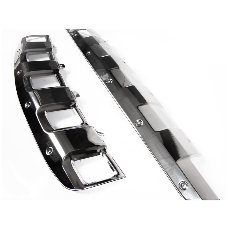 protection de pare chocs pour mercedes ml w164 plaques de protectio. Black Bedroom Furniture Sets. Home Design Ideas