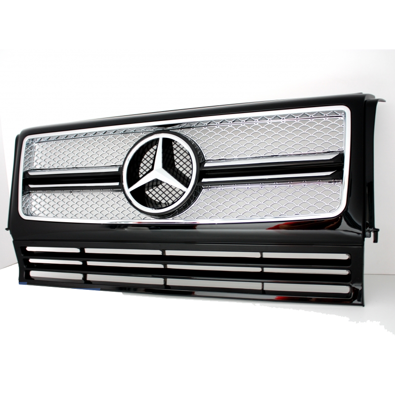calandre look g65 amg pour mercedes classe g w463 grille look g65 a. Black Bedroom Furniture Sets. Home Design Ideas