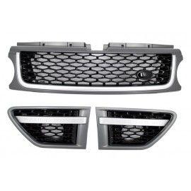 Pack Calandre Look Autobiography noir silver pour Range Rover Sport 2010-2013