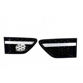 Grilles latérales Black inscription RANGE ROVER pour Range Sport 10-13
