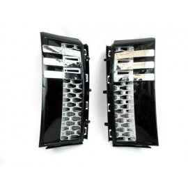 Grilles latérales Noir pour Range Rover Vogue 02-12