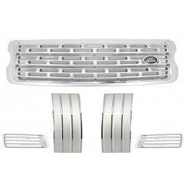 Pack calandre Silver pour Range Rover L405 à partir de 2013 Autobiography