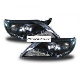 Phares LED Black pour TIGUAN 2007 2011
