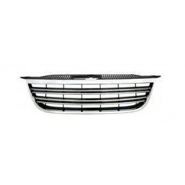 Calandre chrome et noir pour Volkswagen TIGUAN 07-11