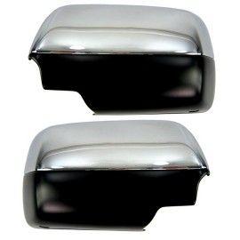 Coques de Rétroviseur Chrome pour BMW X5 E53