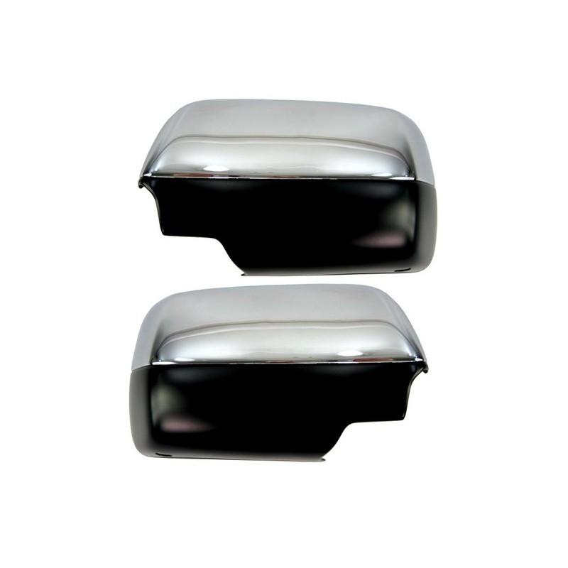 coques de r troviseur chrome pour bmw x5 e53 les coques se collent. Black Bedroom Furniture Sets. Home Design Ideas
