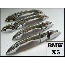 Coques de poignées Chrome pour BMW X5 E53