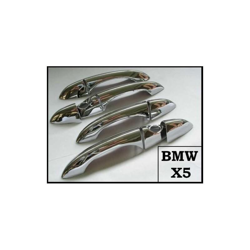 Coques De Poignees Chrome Pour Bmw X5 E53 Coques De Poignees De Por