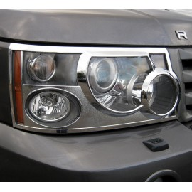 PROTECTION DE PHARE CHROME POUR RANGE ROVER SPORT
