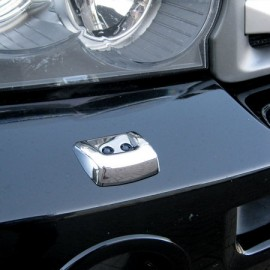COUVRE LAVE PHARE CHROME POUR RANGE ROVER