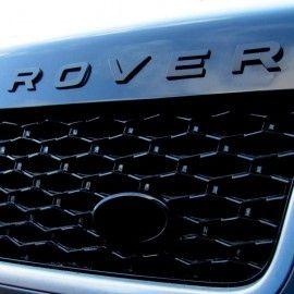 Lettrage 3D Noir Mate pour Range Rover Sport