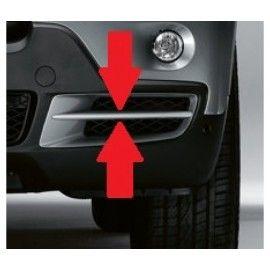 Enjoliveur grille de pare-chocs avant droit pour BMW X5 E70 07-10