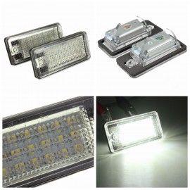 Eclairage de plaque LED blanche pour BMW X5 E70