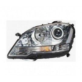 Phare gauche noir pour Mercedes ML W164 2008-2011