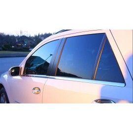 Barres de fenêtre en Acier Chromé pour Mercedes ML W164