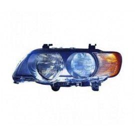 Phare droit avec clignotant blanc pour BMW X5 E53 99-03