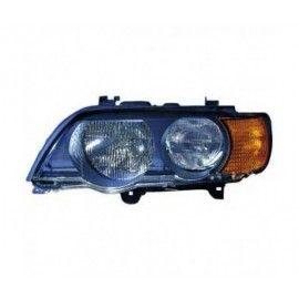 Phare gauche avec clignotant orange pour BMW X5 E53 99-03