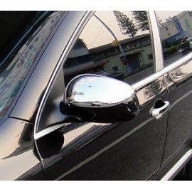 Coques de Rétroviseur Chrome pour Porsche Cayenne 02-07