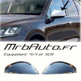 Coques de Rétroviseur Chrome pour Volkswagen Touareg 2011