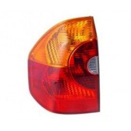 Feu arrière gauche rouge orange extérieur pour BMW X3 E83 2004-2006