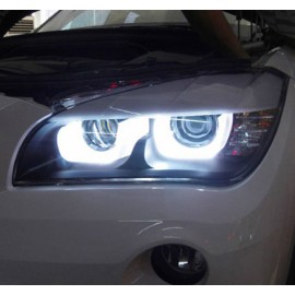 Phares LED Angel Eyes 3D pour BMW X1E84