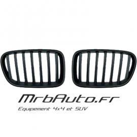 Grilles de calandre Noir pour BMW X3 F25 2010-2014