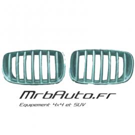 Grilles de calandre Chrome pour BMW X3 F25 2010-2014