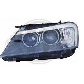 Phare avant droit Bi-Xenon D2S directionnel pour BMW X3 F25 2010-2014