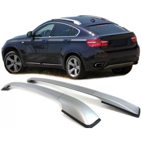 barres de toit en aluminium pour bmw x6 barre en aluminium couleur. Black Bedroom Furniture Sets. Home Design Ideas