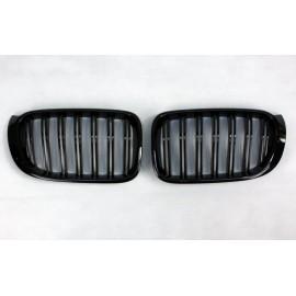 Grilles Noir Brillant Pour BMW X4 F26