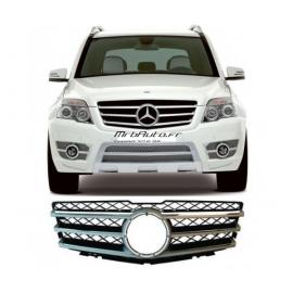 Calandre design Noir / Chrome pour Mercedes GLK X204 08-12