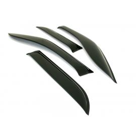 Déflecteurs d'air noir pour BMW X5 E70