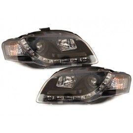 Paire de phares diurnes à LED pour Audi A4 2004-2007