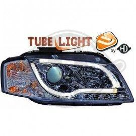 Paire de phares avant + Light bar intégrés Audi A3 8P 2003-2008