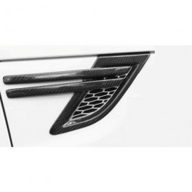 Grilles laterales Fibre de Carbone Range Rover Sport L494