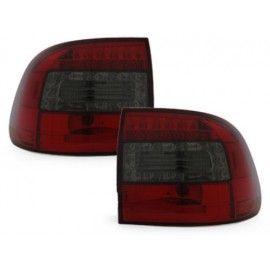 Feux LED Rouge Teinté pour Porsche Cayenne 2003-2007