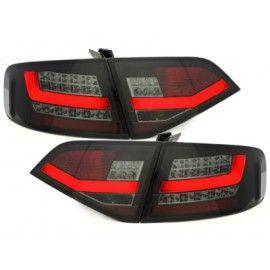 Feux arrière LED Lightbar noir / fumée pour Audi A4 BERLINE 2007-2011