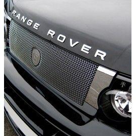 LETTRAGE 3D CHROME POUR RANGE ROVER