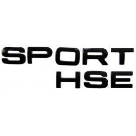 LETTRAGE SPORT HSE NOIR POUR RANGE ROVER