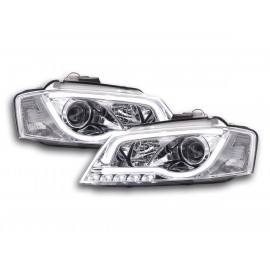 PHARES CHROME LIGHTBAR LED AUDI A3 8P 08-12