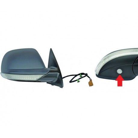 retroviseur droit electrique pour volkswagen touareg 2007 2010 glac. Black Bedroom Furniture Sets. Home Design Ideas