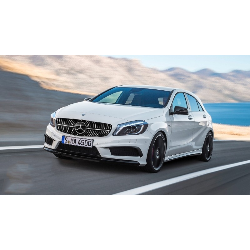 pare chocs pour mercedes classe a w176 look a45 amg look a45 amg a. Black Bedroom Furniture Sets. Home Design Ideas