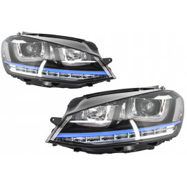PHARES LED LOOK GTE POUR VOLKSWAGEN GOLF 7