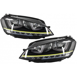 PHARES LED LOOK R400 POUR VOLKSWAGEN GOLF 7