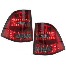 FEUX LED ROUGE / BLANC POUR MERCEDES ML W163