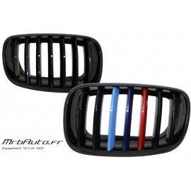 Grilles Noir Brillant Pour BMW X5 X6