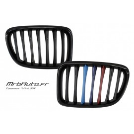 Grilles Noir Brillante Look M Pour BMW X1